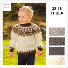 36-17 FLÓI Modell 2 - Garnmani.no - Spesialist på islandsk ull Royals, Crochet Hats, Turtle Neck, Pullover, Sweaters, Pink, Fashion, Scale Model, Knitting Hats