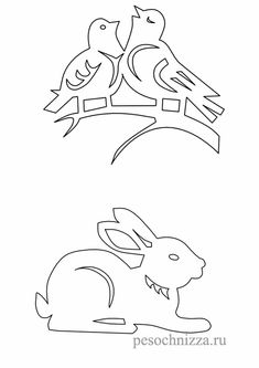 zajchik (494x700, 87Kb) Free Coloring Pages, Coloring Books, Landscape Art Quilts, Christmas Paper Crafts, Bunny Crafts, Christmas Coloring Pages, Stencil Patterns, Scrapbook Sketches, Kirigami