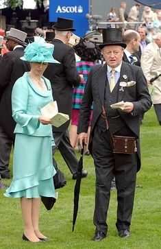 Royal Ascot Ladies Day, Stock Pictures, Stock Photos, Line Of Succession, Princess Anne, Prince Philip, Second Child, Queen Elizabeth Ii, British Royals