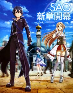 Sword Art Online (Kazuto Kirigaya, Asuna Yuuki)