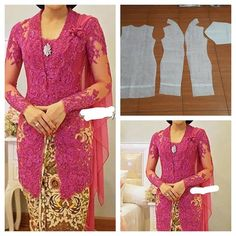 super ideas for dress brokat merah maroon Kebaya Brokat, Dress Brokat, Kebaya Dress, Pola Kebaya Kutubaru, Vera Kebaya, Batik Kebaya, Batik Dress, Kebaya Muslim, Outfit Essentials