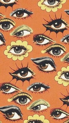 MOOD the cattwalk printpatterns Eyes colorful retro kitsch art illustration graphicdesign print pattern # Photo Wall Collage, Collage Art, Poster Collage, Picture Wall, Poster Prints, Aesthetic Iphone Wallpaper, Aesthetic Wallpapers, Wallpaper Desktop, Wallpaper Quotes