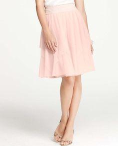 #Ann Taylor               #Skirt                    #Asymmetrical #Tulle #Skirt                         Asymmetrical Tulle Skirt                            http://www.seapai.com/product.aspx?PID=1014617