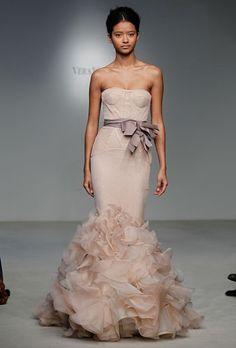 love this wedding dress by Vera Wang