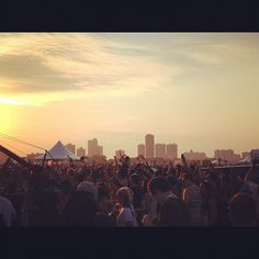 At Wavefront music festival #chicago