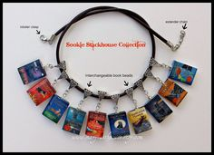 Sookie Stackhouse book beads from MaryFaithPeace
