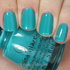 China Glaze My Way Or The Highway | Spring 2015 Road Trip Collection | Peachy Polish
