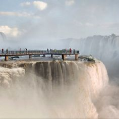 Water walk, Argentine