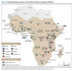 #Map shows new #Energy facilities in #Africa built by companies from #China. Investment abroad keeps growth up in China! HT @AfroDataCharts