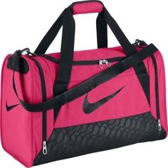 Borsa donna fitness DUFFEL rosa-nero