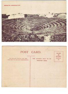 Gwennap Pit, near Redruth, Cornwall - - Postcard Devon And Cornwall, Cornwall England, Postcards For Sale, Cousins, Family History, United Kingdom, English, Wedding Ideas, Travel