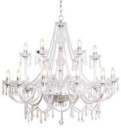 "Murano Venetian Style All-Crystal Chandelier! 39"" X 39"" - C181-Cjd-982/18"