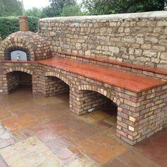 Cuptoare de gradina din piatra outdoor stone ovens 8