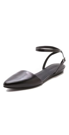 huge discount 7f922 127b8 Shoes   SHOPBOP Ankle Strap Flats, Flat Sandals, Trendy Shoes, Shoes World,