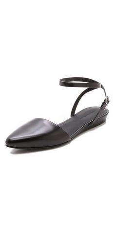 huge discount 7f922 127b8 Shoes   SHOPBOP Ankle Strap Flats, Flat Sandals, Trendy Shoes, Shoes World,