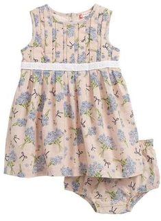 5a9dd5636b02 Ruby & Bloom Dobby Pleat Front Dress Baby Girl Dresses, Baby Girls, Girl