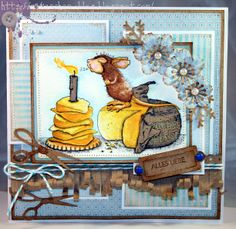 Nataschas Blog: House Mouse and Friends Monday Challenge #137