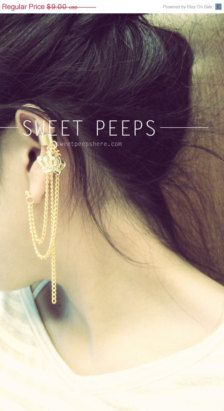 Cuff in Earrings - Etsy Jewelry