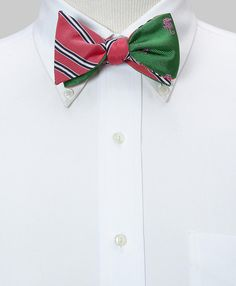 I wish I had a boyfriend to give one of these Social Primer Brooks Brothers bow ties to. Too cute for words.