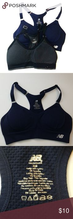 2bf051de174c6 2 pack Sports Bras XS 0 2 Ryka New Balance Ryka   New Balance Sports Bras  Extra Small Brand sizing states 0 2 I would say these are a Size 0 Both are  medium ...