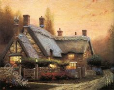 Thomas KinKade--McKennas Cottage