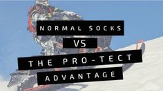 When compared to an average sock, the Pro-Tect Advantage is much better suited for hardy wear.