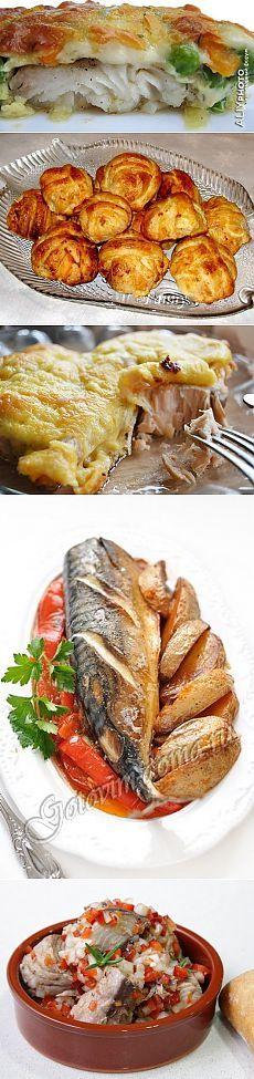 Подборка рыбных блюд для праздничного стола.