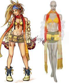 Final Fantasy XII FF12 Rikku Cosplay Costume  Final Fantasy XII FF12 Rikku Cosplay Costume  http://www.shareasale.com/m-pr.cfm?merchantID=38080&userID=1079412&productID=605968310  #cosplay