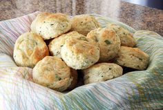 Cream Cheese and Chives Team Up In These Fabulous Biscuits