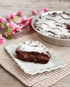 Crostata al cacao ripiena di crema al cioccolato , un dolce cioccolato che conquista tutti fin dal primo assaggio. Provatela , è deliziosa - Le ricette di Mary Zero glutine 100% Bontà - Google+