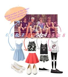 """""""Like my last"""" by the-vamps-outfits ❤ liked on Polyvore featuring Boohoo, Topshop, Vans, Charlotte Olympia and Accessorize"""