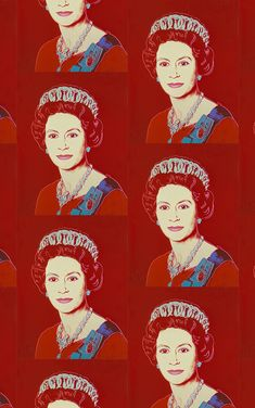 Andy Warhol /  Queen Elizabeth/Ruby
