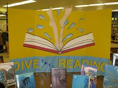 Dive into Reading: borrowed the idea from someone else and made it to go onto a tri-fold.