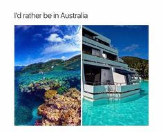 I'd love to go to Australia! Vacation Places, Vacation Trips, Dream Vacations, Vacation Spots, Oh The Places You'll Go, Cool Places To Visit, Beautiful Places To Travel, Future Travel, Travel Goals
