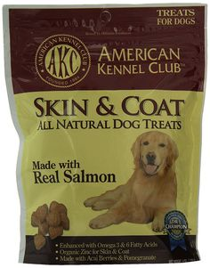 American Kennel Club Salmon All Natural Treats for Skin and Coat, 6 ounce * Check out this great product. (This is an affiliate link and I receive a commission for the sales)