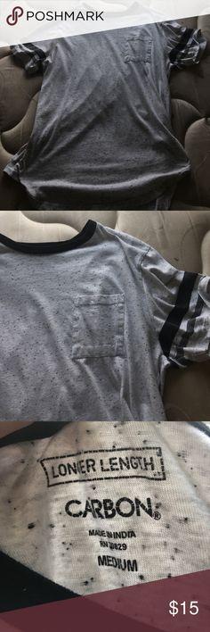 Pocket Tee Long Tshirt Shirts Tees - Short Sleeve