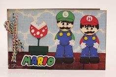 Beths Beauties: Mario Bros. Book Using ScrappyDew  Scrappy Dew Brothers