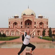 Jumping for joy in #India on my first #metowetrips !! #lifechanging #bethechange #travel #summer