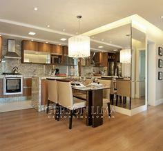 Cozinha e Sala de Jantar empreendimento Ideale Residencial / Ideale Residencial Dining Room