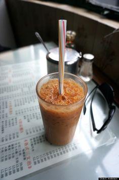 Hong Kong style iced milk tea