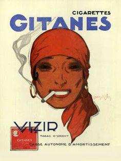 Vieilles publicités de l'industrie du tabac