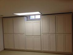 My studio storage cupboards
