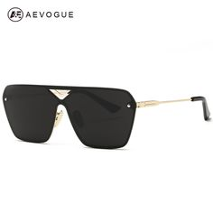 d68008b9df AEVOGUE Men s Sunglasses Conjoined Spectacle Lens Rimless Alloy Frame  Summer Style Sun Glasses Oculos De Sol