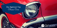 Our agency loves classic cars, here's a list of our favorites.  What are your favorite classic cars?  #classiccars #vintage #musclecars #paradisoinsurance #classiccarinsurance #automotive