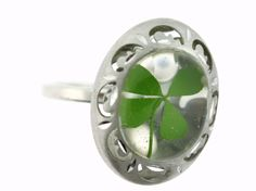 Try your luck with this beautiful four leaf clover piece. It is a simple piece that can go with everything, I am sure that you wont be disappointed. This piece could bring you good luck!
