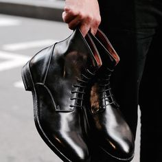 A timeless and masculine combat boot from the artisans that are Buttero.  The finest Tuscan washed calfskin uppers and custom injected sole units.  If a boot was ever an investment piece, this is it.  Emporium and Sydney (The Galeries) open today.  #124shoes #124sydney #buttero #butteroboots #combatboots #mensboots #italianboots #blackboots #boots #madeinitaly #fattoinitalia #artisan #artigianale #handmade #fattoamano #emporiummelbourne #thegaleries #melbourne #sydney
