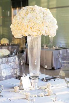Gorgeous White Reception