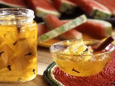 Pickled Watermelon Rind | mrfood.com