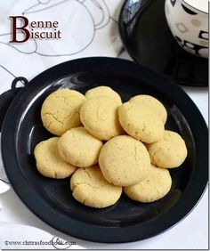 """Ok,Lets see how to make this iyengar bakery style eggless benne biscuit/Nankhatai at home easily. In Karnataka,it is called as """"Benne biscuit"""" Butter Biscuits Recipe, Biscuit Recipe, Unique Recipes, Indian Food Recipes, Vegetarian Recipes, Butter Bakery, Indian Dishes, Us Foods, Cookie Recipes"""