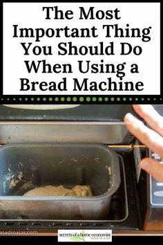 Bread Machine Mixes, Easy Bread Machine Recipes, Bread Maker Recipes, Yeast Bread Recipes, Bread Machines, Salad In A Jar, Bread Mix, Bread Rolls, How To Make Bread